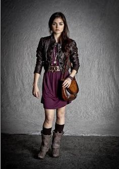 The Conscious Beauty: Style Guide: Aria from Pretty Little Liars