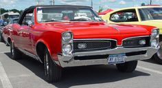 1967 Pontiac GTO Convertible - Red - Front Angle    Image Copyright Serious Wheels