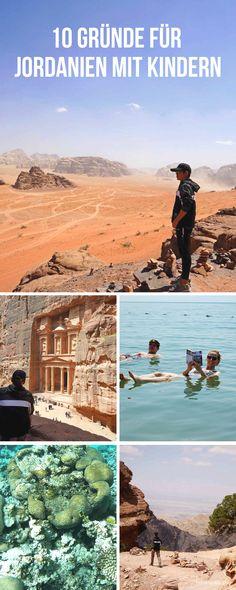 Gründe für eine Jordanien Reise mit Kindern. Ein Urlaub in Jordanien ist toll für die ganze Familie. Wadi Rum, Travel To Saudi Arabia, Vertical City, Jordan Travel, Visit Dubai, Outdoor Research, Pilgrimage, Natural Wonders, Travel With Kids