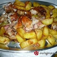 Ρολό κοτόπουλο στη γάστρα Potato Salad, Pork, Potatoes, Chicken, Meat, Ethnic Recipes, Pork Roulade, Pigs, Potato