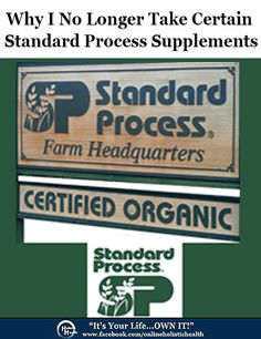 Standard Process Supplements - Natural Health Blog | Holistic Health Blog: the other side