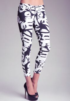 bebe | Block Party Skinny Jeans - Bottoms - View All
