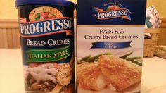 Difference between: breadcrumbs and Panko breadcrumbs.