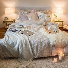 cool 99 Elegant Cozy Bedroom Ideas with Small Spaces http://www.99architecture.com/2017/03/07/99-elegant-cozy-bedroom-ideas-small-spaces/