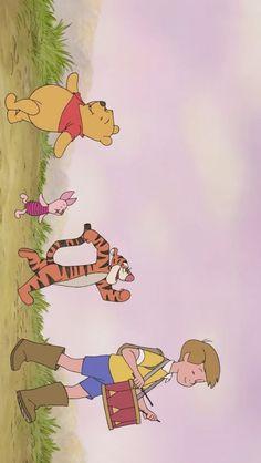 안녕 여러분 오늘은 보정한 배경화면이에요 호호홓 배경만들기 귀찮지만 제가 쓸 것만 만들어 둬서 올려봅... Winnie The Pooh Cartoon, Winnie The Pooh Pictures, Cute Winnie The Pooh, Funny Iphone Wallpaper, Disney Phone Wallpaper, Kawaii Wallpaper, Cute Cartoon Wallpapers, Cartoon Pics, Animes Wallpapers
