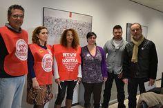 El Comitè d'empresa de RTVV porta la situació de l'ens públic al Parlament Europeu