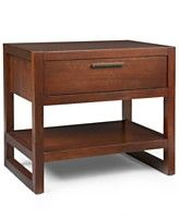 Tahoe Nightstand, 1 Drawer, Copper