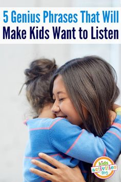 Looking for listening phrases to help your kids listen better? These 5 phrases will transform your parenting days and build connection with kids.