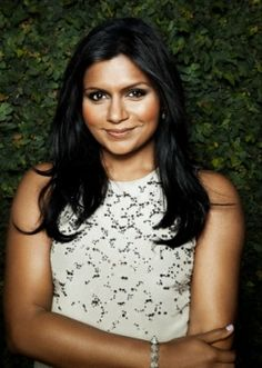 Mindy Kaling. A brilliant woman. Thank you <3.   Her books are amazing and I love The Mindy Project / office