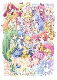 Pretty Cure #anime
