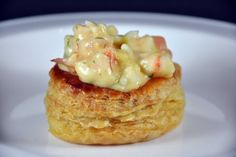 Prawns in a Cream Sauce Vol-au-Vents