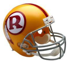 Washington Redskins Full Size Throwback Replica Autograph Helmet