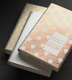 Gorgeous F. Scott Fitzgerald book redesigns.  By Coralie Bickford Smith Via Arren Williams Design Lab