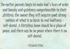 Elisabeth Elliot on the home