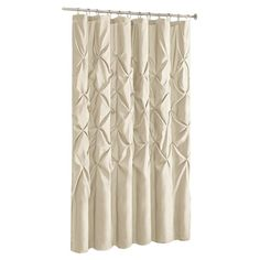 Willa Arlo Interiors Benjamin Single Shower Curtain Color: Ivory, Size: H x W Laundry In Bathroom, Bathroom Shower Curtains, Curtain Shop, Swimming Pool Construction, Shower Liner, Colorful Curtains, Classic Furniture, Modern Furniture, Interior S