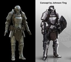 Personal project that is based on a concept from Johnson Ting. His site: https://johnsonting.artstation.com/ And : https://johnsonting.artstation.com/projects Painted in Mari Rendered in Corona.