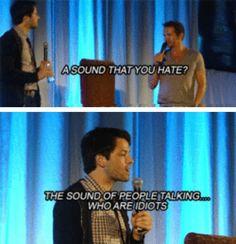 Misha hates that sound