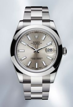 Since 1945... back again in steel now 41 mm case #Rolex #Watches