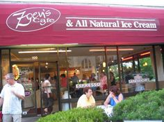 Zoey's Cafe Home of All Natural Ice Cream