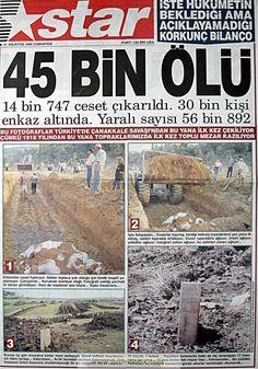Star gazetesi 21 ağustos 1999
