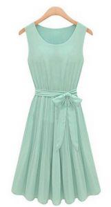 Amazon Deals: Vintage Sleeveless Chiffon Dress Only $17.79