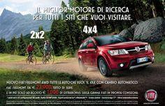 """FIAT: il messaggio è """"mangiate la polvere ciclisti"""""""