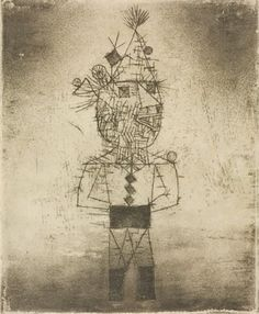 Stachel der Clown 1931 by Paul Klee