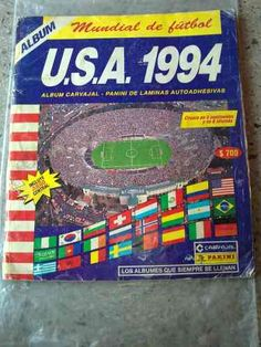 Album Mundial De Futbol Panini World Cup Fifa Usa 1994 Full - $ 199.900