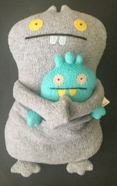 Uglydoll Babo And Babos Bird Plush Stuffed Animal Toy Adhesive Hands Monsters #PrettyUgly