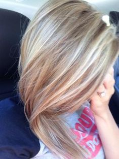 Honey/ash blonde highlights by Krits