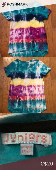 Size girls 8/9 Tie die t-shirt Size girls 8/9 Tie die t-shirt Shirts & Tops Tees - Short Sleeve Tie Dye, Kids Shop, Tees, Sleeve, Girls, T Shirt, Closet, Things To Sell, Women