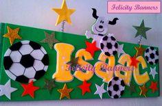 Banner en foami Scooby soccer