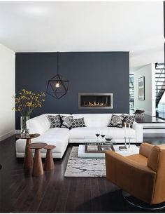 Medici Sectional Sofa with Track Arm