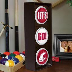 Washington State Cougars Flashing Let's Go Light - $49.99