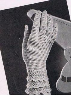 Crochet gloves pattern - fingerless, full fingers or finger holes