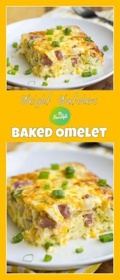 Weight Watchers Baked Omelet | weight watchers cooking