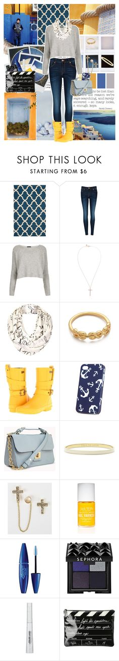 """""""Turned Night Into Day """" by kaite26 ❤ liked on Polyvore featuring twenty2, Lost & Found, Ted Baker, Topshop, Gorjana, Burberry, H&M, Forever 21, Kate Spade and Daytrip"""
