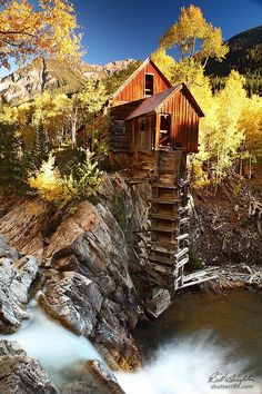 The Crystal Mill, or the Old Mill is a 1892 wooden powerhouse located on an outcrop above the Crystal River in Crystal, Colorado, USA