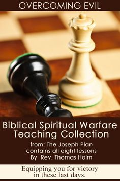 ebook--Learn the art of Biblical Spiritual Warfare and how to overcome Evil. Complete eight lesson Training Course