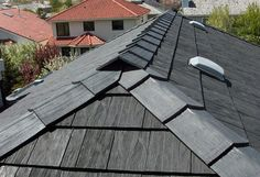 Recycled Rubber Roofing Euroshield in Barrie, Ontario Roof Shingle Repair, Roof Repair, Roofing Companies, Roofing Systems, Roofing Products, Rubber Roofing, Reuse Old Tires, Cedar Shakes, Roof Structure