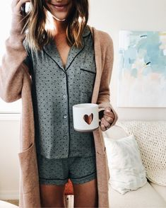 Original UGG® Amelia Knit Pyjama Setfor Women on the official UGG® website. Outfit Chic, Home Outfit, Lounge Outfit, Lounge Clothes, Kendall Jenner Outfits, Cute Pajamas, Pajamas Women, Cute Sleepwear, Loungewear