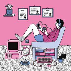 Martina Paukova #illustration for Creative Review