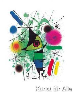 Joan Miró - Der singende Fisch