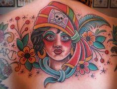 gypsy tattoo Gypsy Tattoos, Watercolor Tattoo, Temp Tattoo