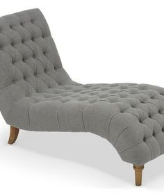Inverness Grey Chaise longue