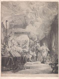The Death of the Virgin - Rembrandt van Rijn, 1951 | Collection Boijmans