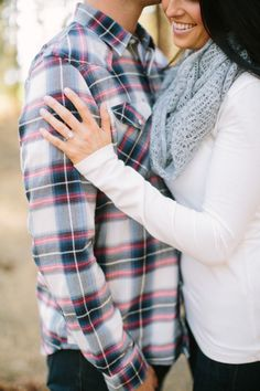 Cozy winter e-sesh: http://www.stylemepretty.com/little-black-book-blog/2014/12/24/dreamy-lake-tahoe-engagement-session/ | Photography: This Love of Yours - http://thisloveofyours.com/