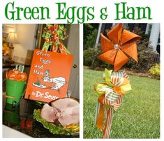 Green Eggs + Ham party