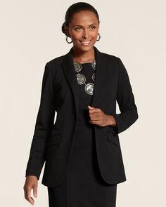Chico's Ponte Fashion Blazer on shopstyle.com