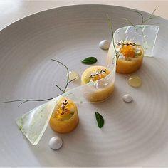Crab, Coconut & Apple Salad. ✅ By - @joshretzz ✅  #ChefsOfInstagram